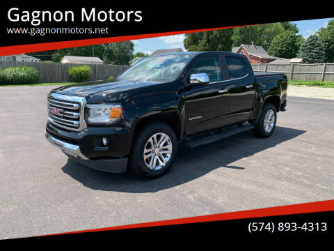 2016 GMC Canyon for sale at Gagnon  Motors - Gagnon Motors in Akron IN