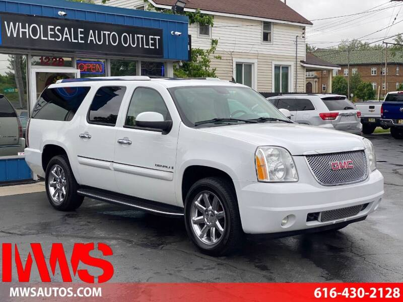 2007 GMC Yukon XL for sale at MWS Wholesale  Auto Outlet in Grand Rapids MI