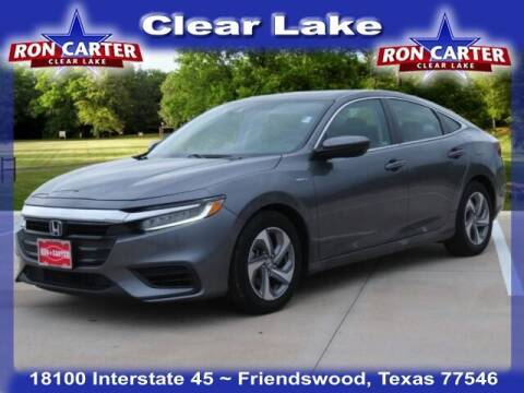 2020 Honda Insight for sale at Ron Carter  Clear Lake Used Cars in Houston TX