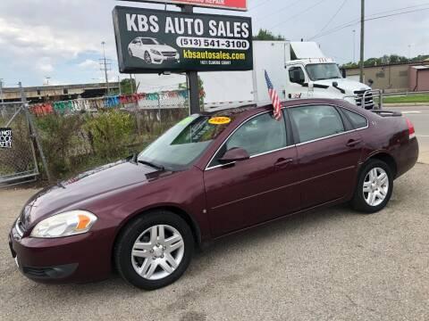 2007 Chevrolet Impala for sale at KBS Auto Sales in Cincinnati OH