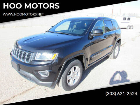 2015 Jeep Grand Cherokee for sale at HOO MOTORS in Kiowa CO