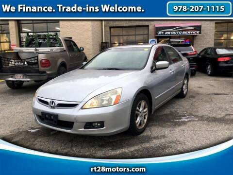 2006 Honda Accord for sale at RT28 Motors in North Reading MA