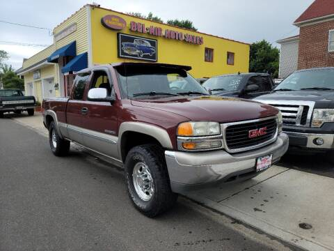 1999 GMC Sierra 2500 for sale at Bel Air Auto Sales in Milford CT