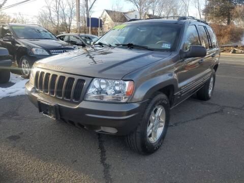 1999 Jeep Grand Cherokee for sale at CENTRAL GROUP in Raritan NJ