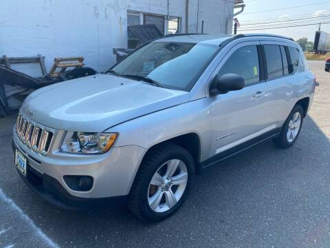 2013 Jeep Compass for sale at East Windsor Auto in East Windsor CT