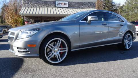 2012 Mercedes-Benz CLS for sale at Driven Pre-Owned in Lenoir NC