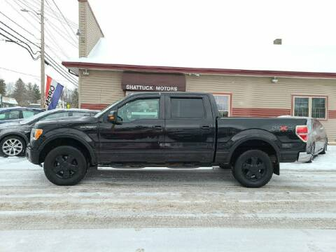 2010 Ford F-150 for sale at Shattuck Motors in Newport VT