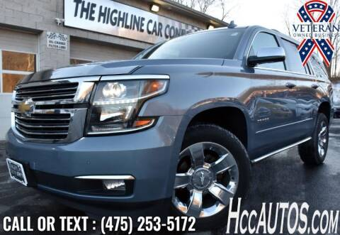 2015 Chevrolet Tahoe for sale at The Highline Car Connection in Waterbury CT