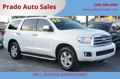 2008 Toyota Sequoia for sale at Prado Auto Sales in Miami FL