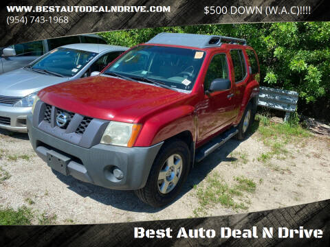 2008 Nissan Xterra for sale at Best Auto Deal N Drive in Hollywood FL