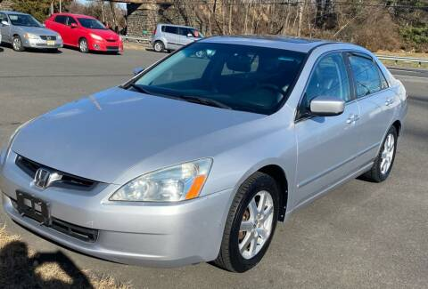 2005 Honda Accord for sale at Suburban Wrench in Pennington NJ