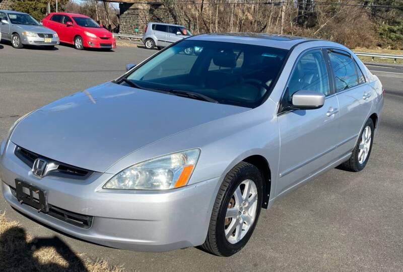 2005 Honda Accord for sale at Suburban Wrench in Pennington NJ