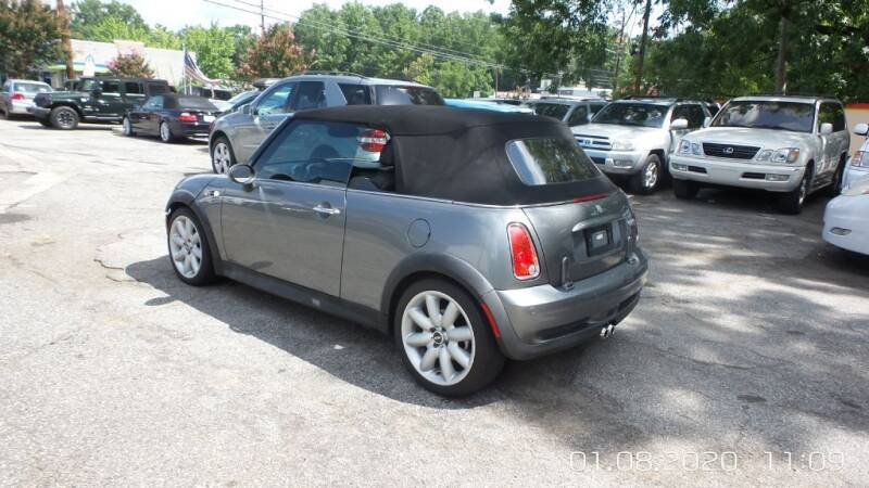 2005 MINI Cooper S 2dr Supercharged Convertible - Roswell GA
