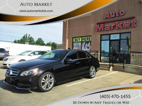 2014 Mercedes-Benz E-Class for sale at Auto Market in Oklahoma City OK