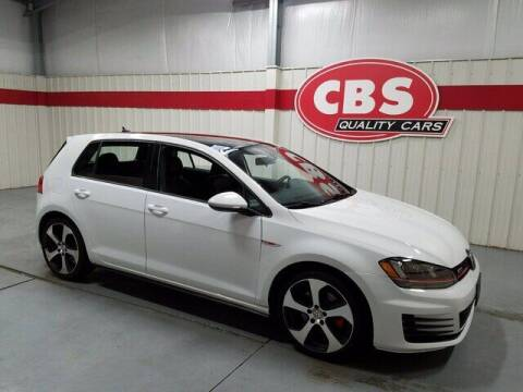 2016 Volkswagen Golf GTI for sale at CBS Quality Cars in Durham NC