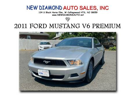 2011 Ford Mustang for sale at New Diamond Auto Sales, INC in West Collingswood NJ