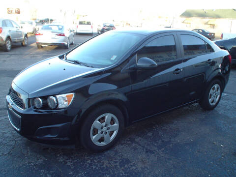 2016 Chevrolet Sonic for sale at World of Wheels Autoplex in Hays KS