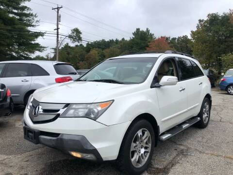2008 Acura MDX for sale at Royal Crest Motors in Haverhill MA