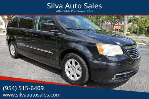2012 Chrysler Town and Country for sale at Silva Auto Sales in Pompano Beach FL