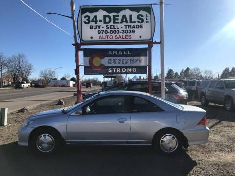 2004 Honda Civic for sale at 34 Deals LLC in Loveland CO