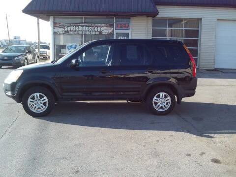 2003 Honda CR-V for sale at Settle Auto Sales TAYLOR ST. in Fort Wayne IN