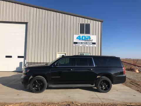 2015 Chevrolet Suburban for sale at 402 Autos in Lindsay NE