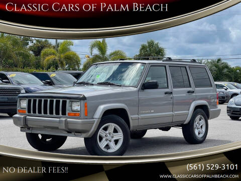 2000 Jeep Cherokee for sale at Classic Cars of Palm Beach in Jupiter FL