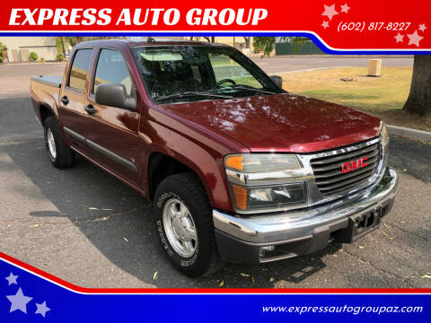 2008 GMC Canyon for sale at EXPRESS AUTO GROUP in Phoenix AZ