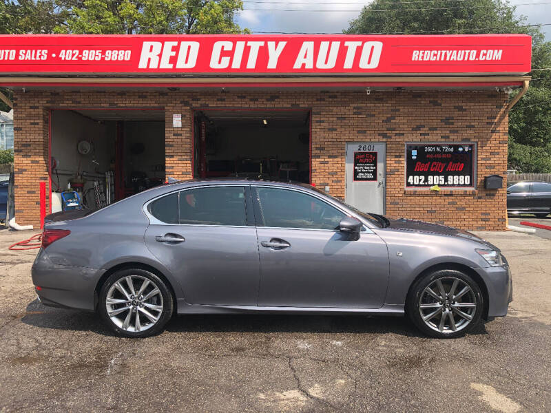 2013 Lexus GS 350 for sale at Red City  Auto in Omaha NE