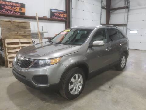 2012 Kia Sorento for sale at Hometown Automotive Service & Sales in Holliston MA