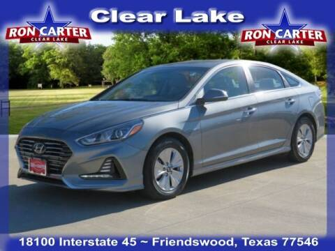 2018 Hyundai Sonata Hybrid for sale at Ron Carter  Clear Lake Used Cars in Houston TX