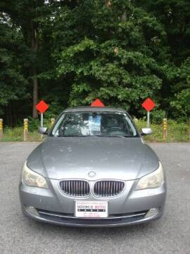 2008 BMW 5 Series for sale at Source Auto Group in Lanham MD