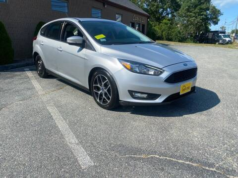 2017 Ford Focus for sale at HILINE AUTO SALES in Hyannis MA