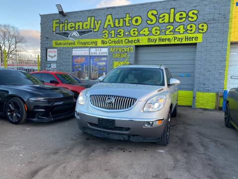 2011 Buick Enclave for sale at Friendly Auto Sales in Detroit MI