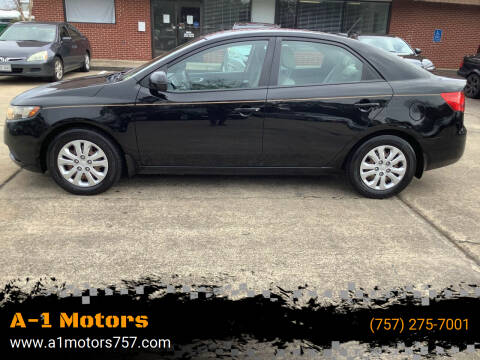 2013 Kia Forte for sale at A-1 Motors in Virginia Beach VA