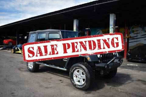 2016 Jeep Wrangler Unlimited for sale at STS Automotive - Miami, FL in Miami FL