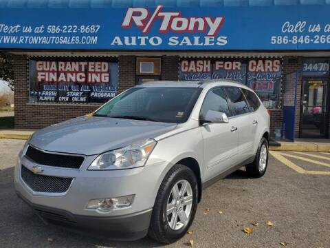 2011 Chevrolet Traverse for sale at R Tony Auto Sales in Clinton Township MI