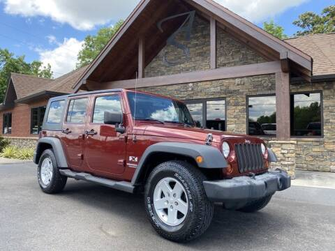 2009 Jeep Wrangler Unlimited for sale at Auto Solutions in Maryville TN