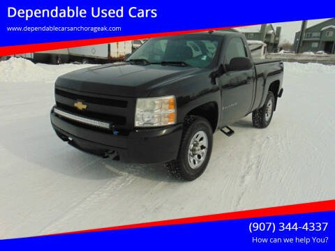 2008 Chevrolet Silverado 1500 for sale at Dependable Used Cars in Anchorage AK
