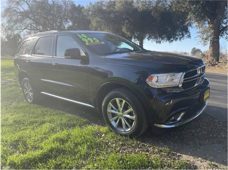 2014 Dodge Durango for sale at D & I Auto Sales in Modesto CA
