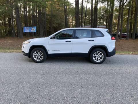 2017 Jeep Cherokee for sale at H&C Auto in Oilville VA