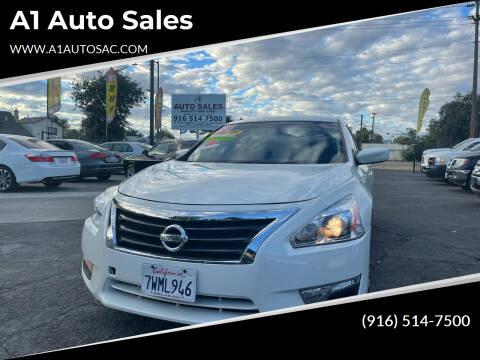 2013 Nissan Altima for sale at A1 Auto Sales in Sacramento CA