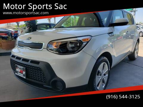 2016 Kia Soul for sale at Motor Sports Sac in Sacramento CA