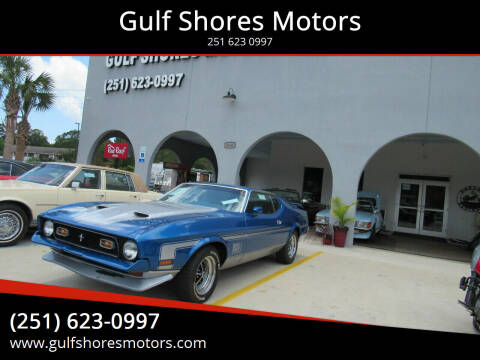 1971 Ford Mustang for sale at Gulf Shores Motors in Gulf Shores AL