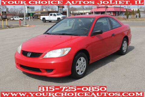2004 Honda Civic for sale at Your Choice Autos - Joliet in Joliet IL