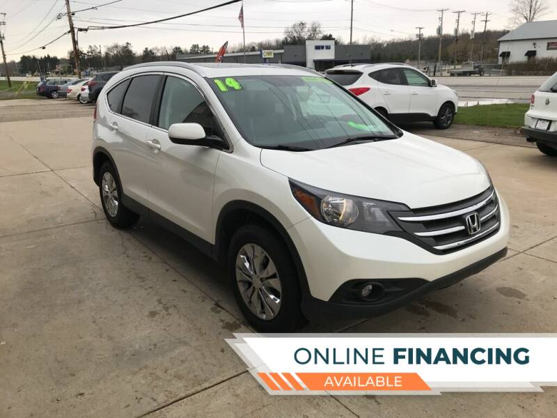 2014 Honda CR-V for sale at Auto Import Specialist LLC in South Bend IN