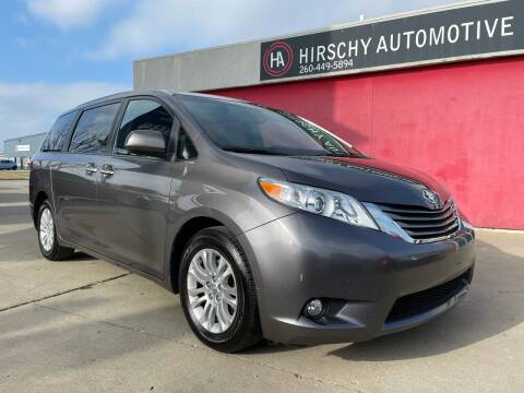 2015 Toyota Sienna for sale at Hirschy Automotive in Fort Wayne IN