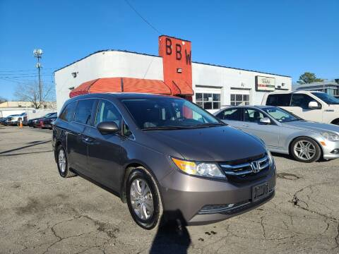 2014 Honda Odyssey for sale at Best Buy Wheels in Virginia Beach VA