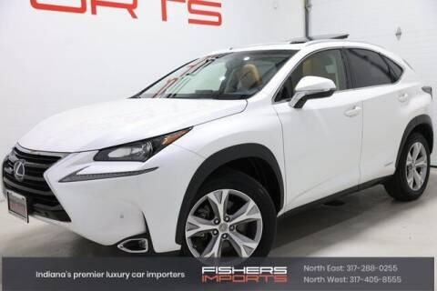 2017 Lexus NX 300h for sale at Fishers Imports in Fishers IN