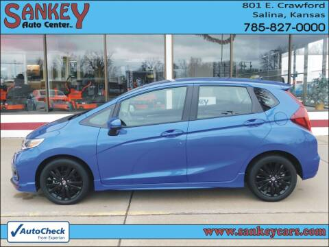 2018 Honda Fit for sale at Sankey Auto Center, Inc in Salina KS